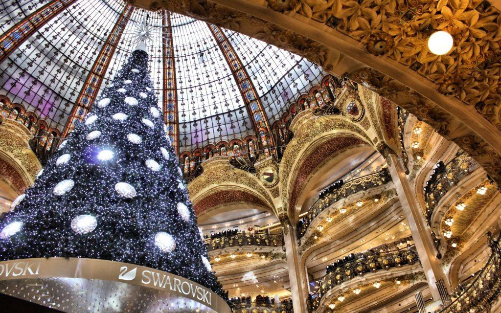 Новый Год Париж